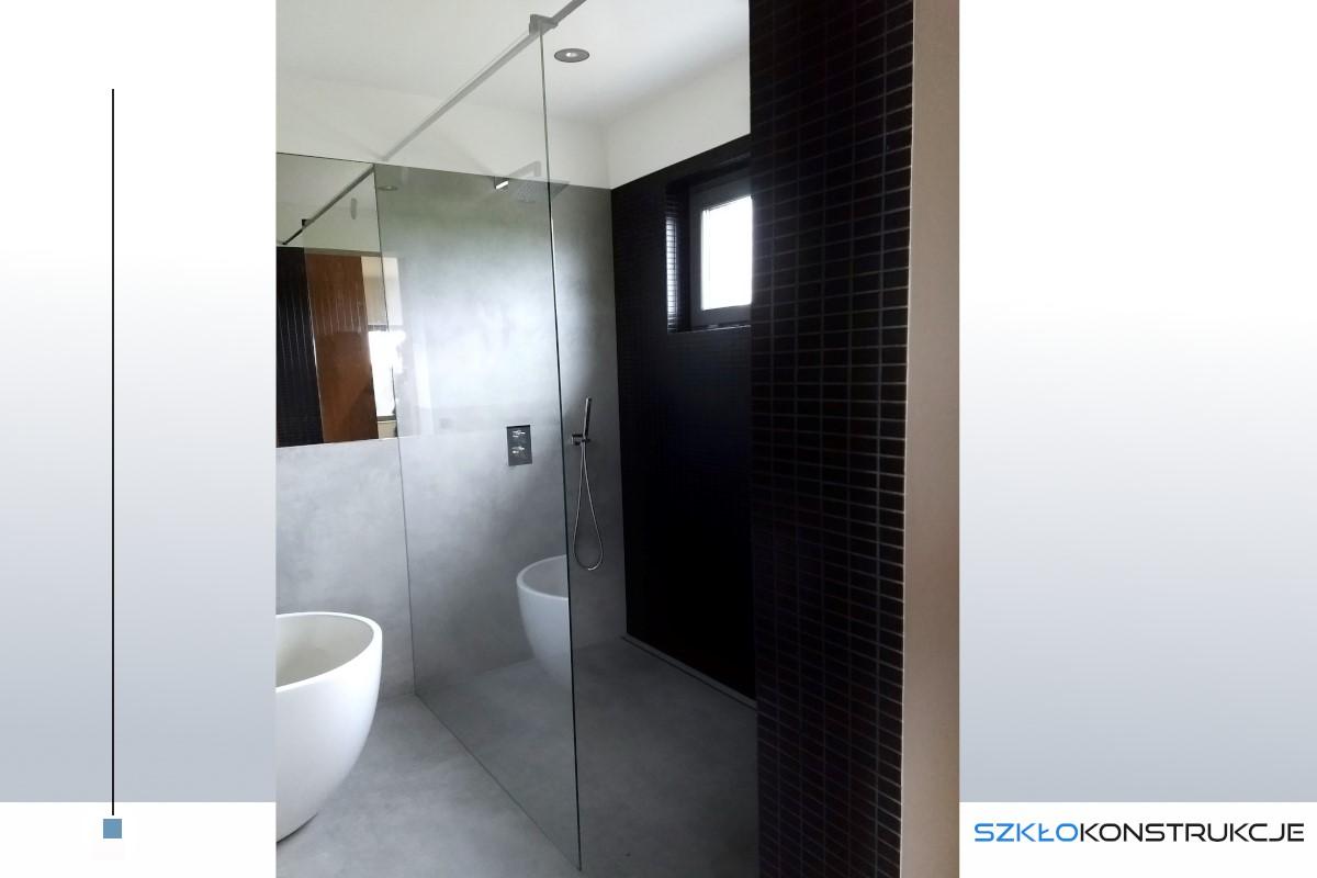 szklana ścianka prysznicowa