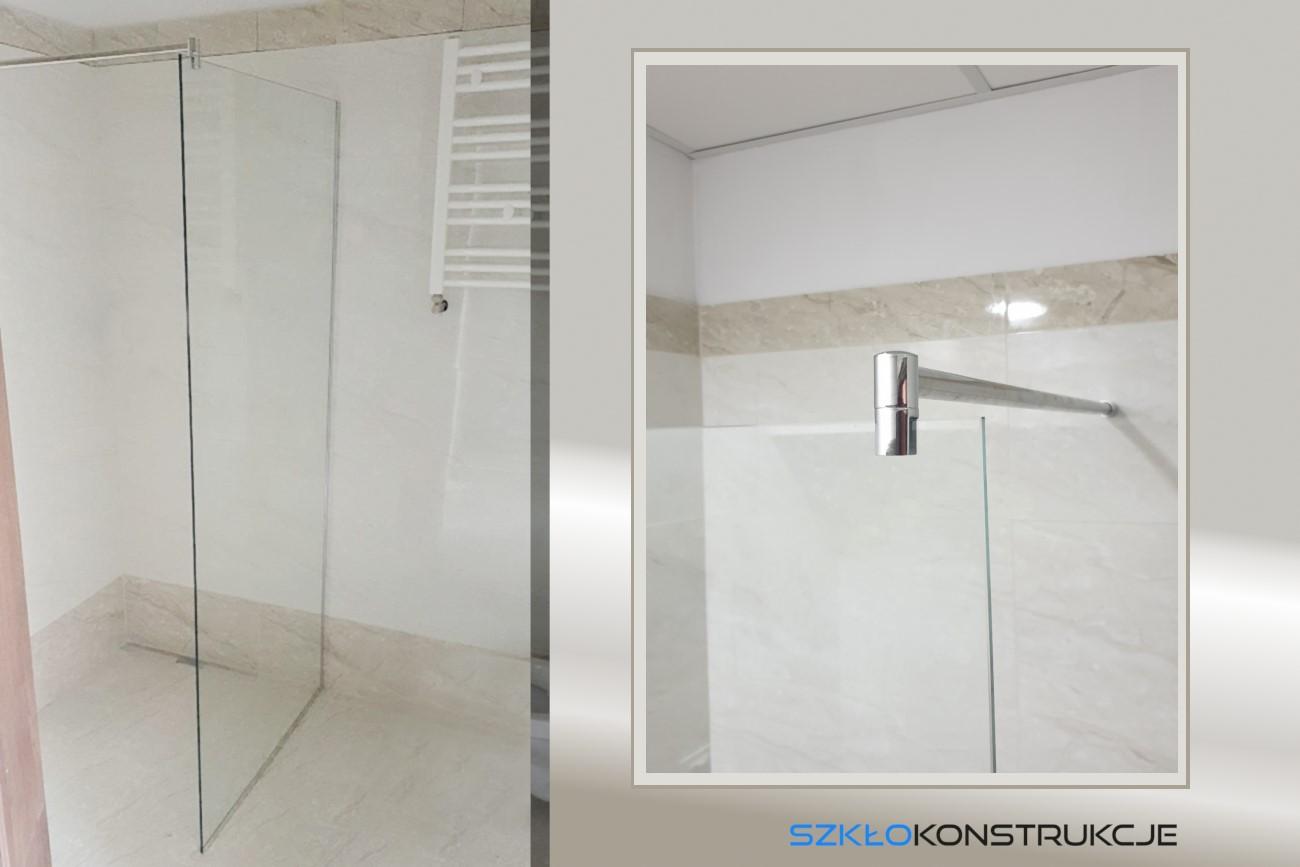 ścianka szklana prysznicowa